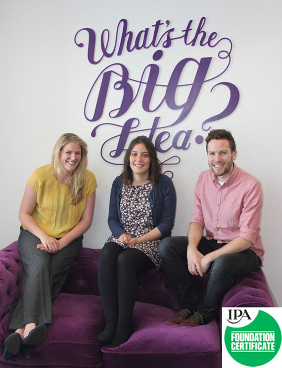 TRIPLE SUCCESS FOR LRD TEAM Three members of LRD-The Big Idea have passed their IPA Foundation Certificate.